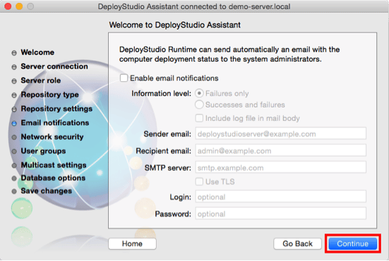 DS - 2- add email nots